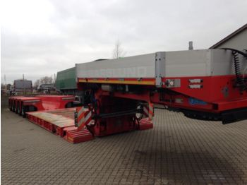 Low loader semi-trailer Goldhofer 3+5 lowbed demo