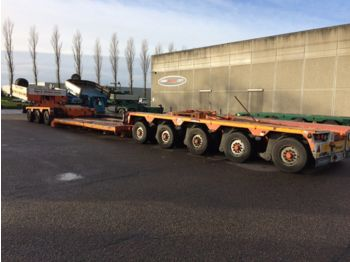 Low loader semi-trailer Goldhofer 3+5 tiefbett