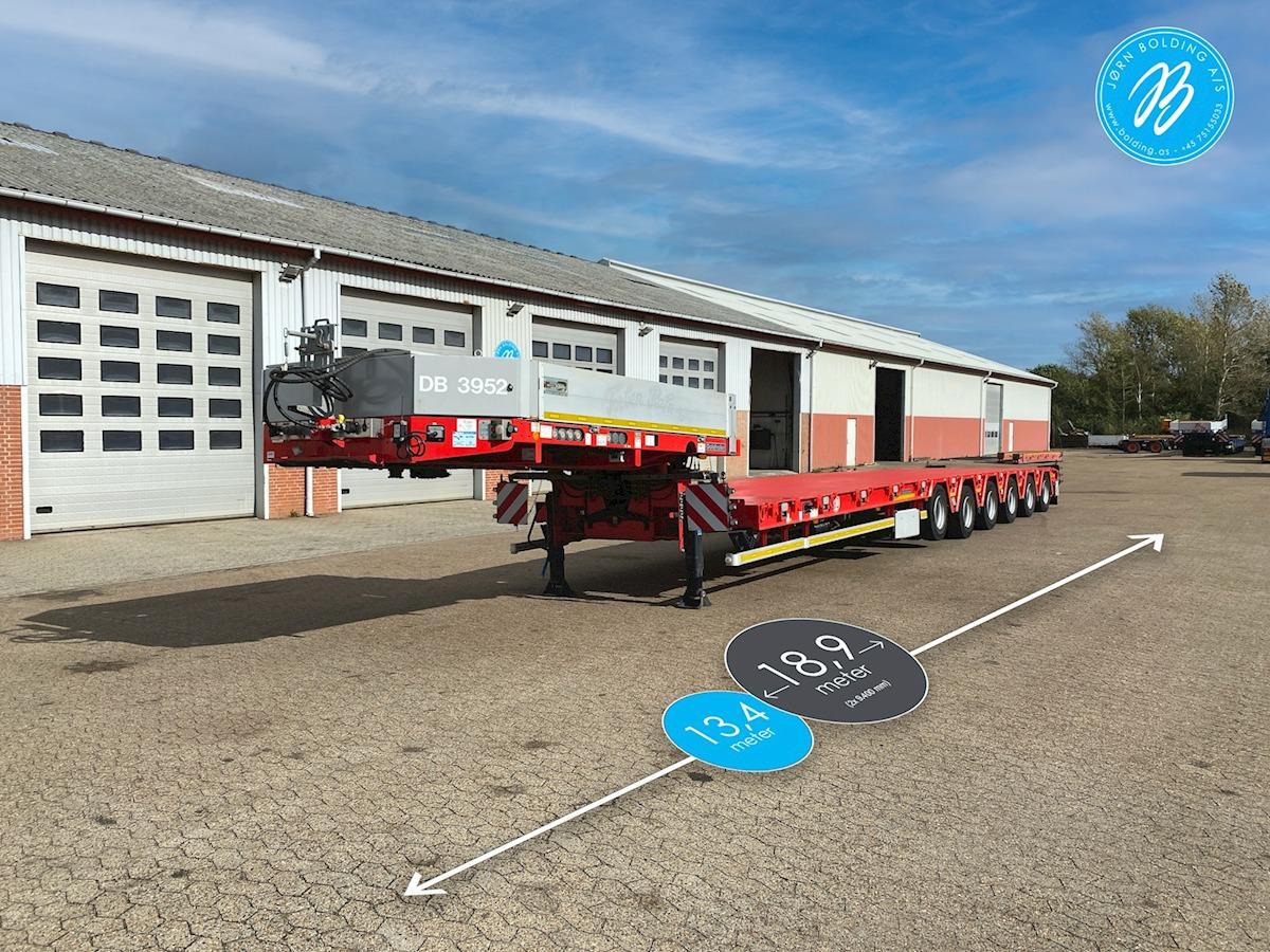 low loader semi-trailer Goldhofer STZ-H 6 AA
