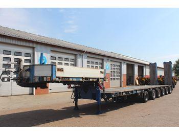 Low loader semi-trailer Goldhofer STZ-L6-59/80AA