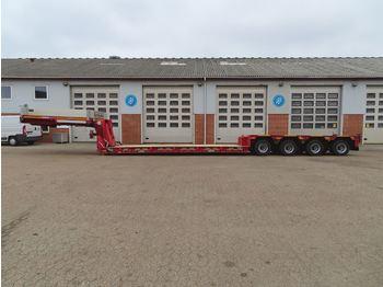 Low loader semi-trailer Goldhofer STZ-VL 4