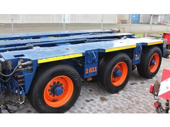 Low loader semi-trailer Goldhofer THP/ET 3