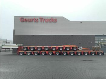 Goldhofer THP ST 20 AXEL LINES MODULE TRAILER  - low loader semi-trailer