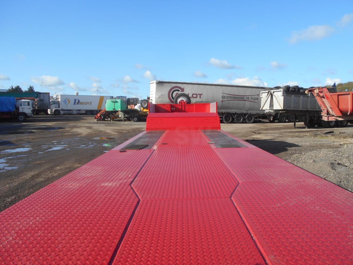 low loader semi-trailer Invepe