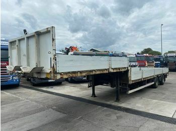 Low loader semi-trailer JANS CREACAR 2 AS