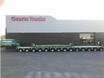KAMAG K 22 14 MODULE AXEL LINES WITH GOOSNECK AN  - low loader semi-trailer