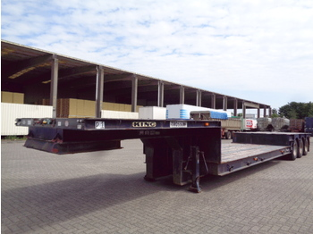 Low loader semi-trailer KING DW55/3: picture 1