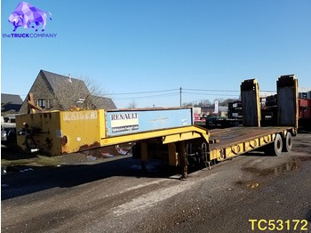 Low loader semi-trailer Kaiser Low-bed