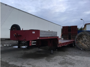 Kaiser SSB25 - low loader semi-trailer