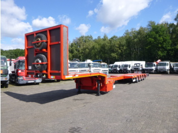 Kassbohrer 4-axle semi-lowbed trailer LB4E 63.8 T / extendable - low loader semi-trailer