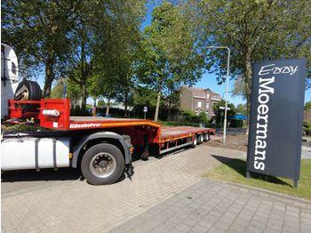 Low loader semi-trailer Kässbohrer LB3E Tele Semie Tieflader