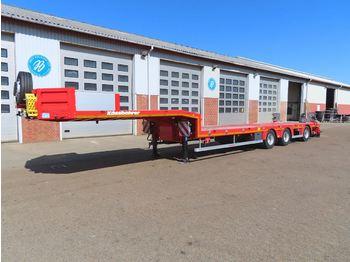 Low loader semi-trailer Kässbohrer Lowbed