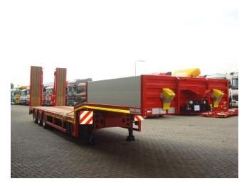 Kässbohrer SEMI DIEPLADER 3-AS - low loader semi-trailer