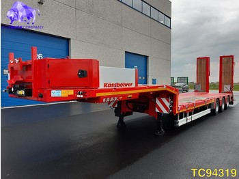 Low loader semi-trailer Kässbohrer SLH 3 Low-bed