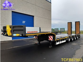 Kässbohrer SLH 4 Low-bed - low loader semi-trailer