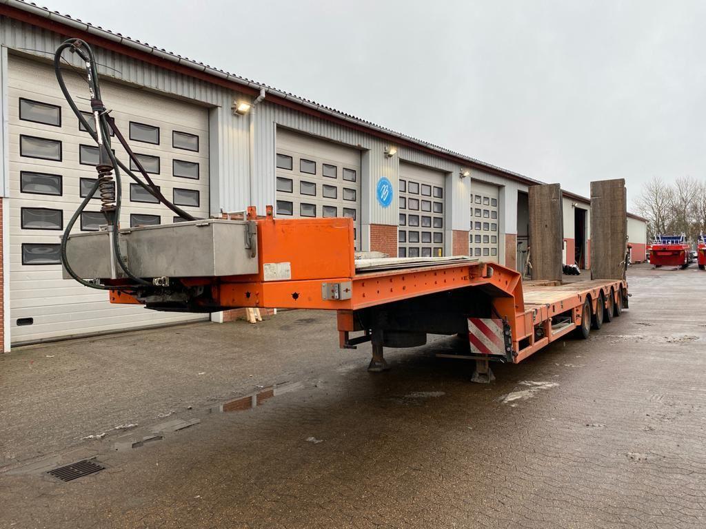 low loader semi-trailer Kel-Berg