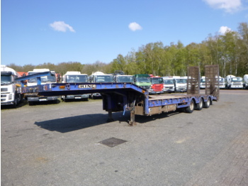 Low loader semi-trailer King 3-axle semi-lowbed trailer 9 m / 32 t + ramps