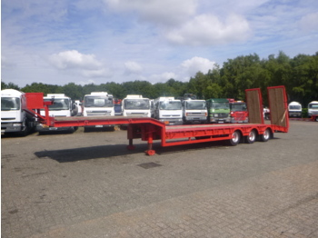 Low loader semi-trailer King 3-axle semi-lowbed trailer + ramps
