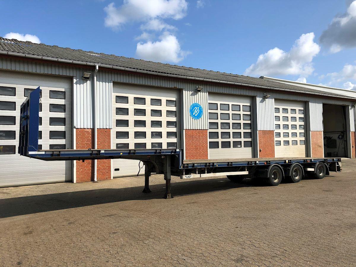 low loader semi-trailer LAG