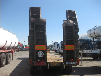 Low loader semi-trailer LECIÑENA