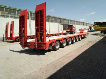 Low loader semi-trailer LIDER NEW 2021: picture 1