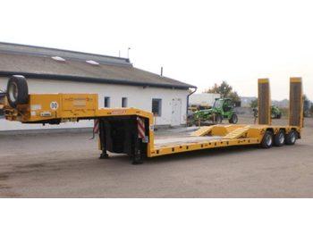 Langendorf 3-Achs Tieflader 50t. - low loader semi-trailer