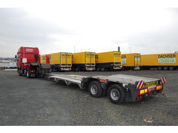 Langendorf SATAH-VL 20/28, Schwanenhals, ausziehbar - low loader semi-trailer