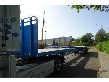 Low loader semi-trailer Montracon EII NKS 1020