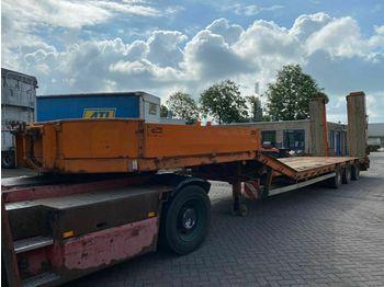Müller-Mitteltal TS 3 KOMPAKT 30.0 - 3 AS + HYDRAULISCHE KLEPPEN  - low loader semi-trailer