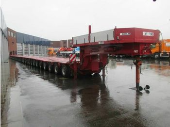 NICOLAS GOOSENECK + 31 ASLINER - TOTAL 655TON  - low loader semi-trailer