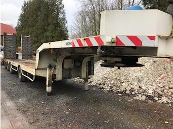 Nicolas 4 essieux - low loader semi-trailer