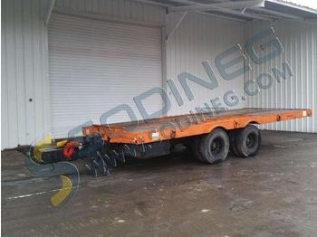 Nicolas SPB15 - low loader semi-trailer