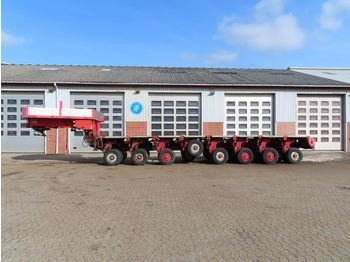 Nicolas Svanehals+2+2+4 modul - low loader semi-trailer