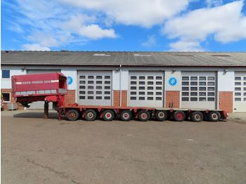 Nicolas Svanehals + 2+3+4 modul - low loader semi-trailer