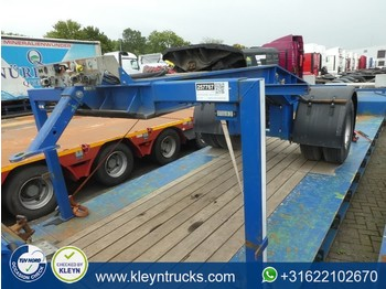 Low loader semi-trailer Nooteboom 1 AXLE DOLLY price for dolly