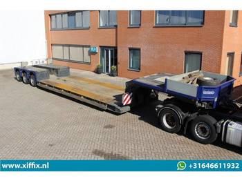 Nooteboom 3-ass. PENDEL X uitschuifbare dieplader met afneembare nek - low loader semi-trailer