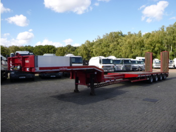 Nooteboom 4-axle semi-lowbed trailer OSD-73-04V - low loader semi-trailer
