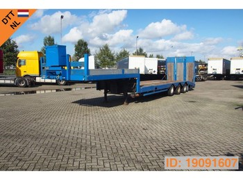 Low loader semi-trailer Nooteboom Low bed trailer
