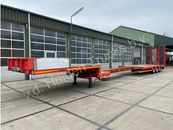 Low loader semi-trailer Nooteboom OSD-48-03V/L   6m Extendable   Ramps