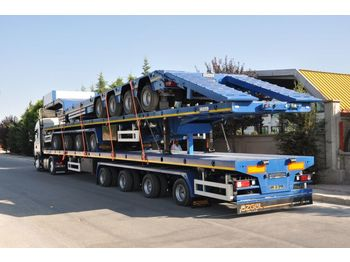 OZGUL PLATFORM WITH 4 AXLES - low loader semi-trailer