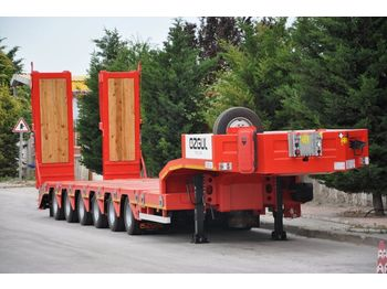 OZGUL PROPERTIES OF LOWBED - low loader semi-trailer