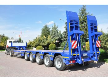 OZGUL PROPERTIES OF LOWBED WITH 5 AXLES - low loader semi-trailer