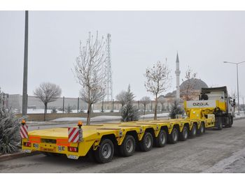 OZGUL PROPERTIES OF LOWBED WITH 8 AXLES - low loader semi-trailer