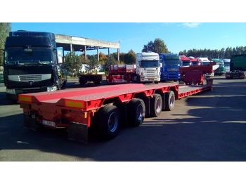 SCHEUERLE STBV4544ABFP - low loader semi-trailer