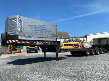 Low loader semi-trailer TANG 56.000 Kg Extension Heavy Duty Lift Hydr.