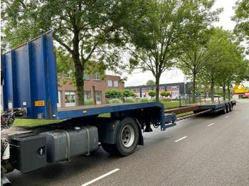 Low loader semi-trailer TSR 3.S0U-18-30.1N - 3 AS - BED: 9,30 + 6,50 MET