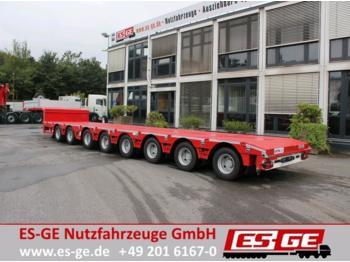 TSR 8-Achs-Satteltieflader  (2+6) - tele  - low loader semi-trailer