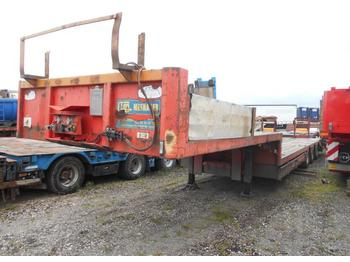 Low loader semi-trailer Trax