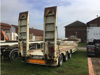 Low loader semi-trailer Trax Original