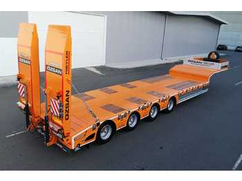 Low loader semi-trailer VEGA TRAILER 4 Axle Low-Bed (OZS-L4)